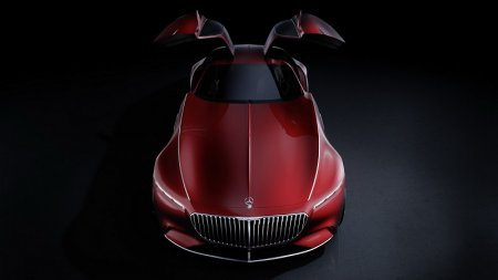 Дизайн концепт-кара Vision Mercedes-Maybach 6
